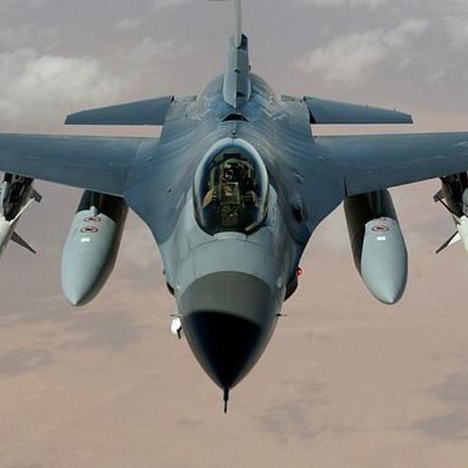 Principales tipos de aeronaves militares