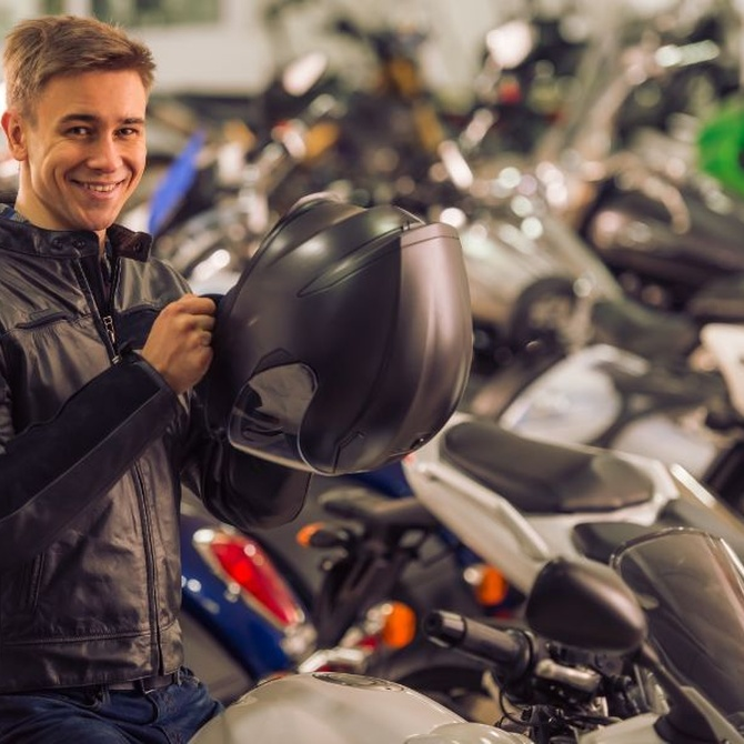 Conducir una moto por primera vez