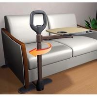 Incorporador giratorio con mesita Couch Tray