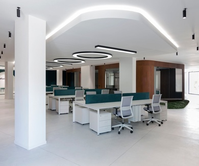 Oficinas Studio 73. Acondicionamiento acústico y decorativo, Ontinyent, VALENCIA.