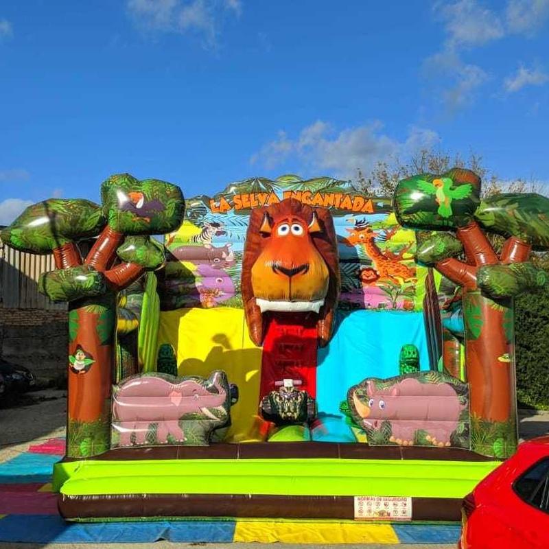 La selva encantada: Catálogo de Hinchables Happy Jump