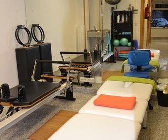 Osteopatía: Fisioterapia/Pilates de Fisioterapia Cuídate