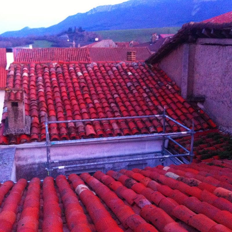 Empresa de rehabilitación de tejados y reparación de goteras