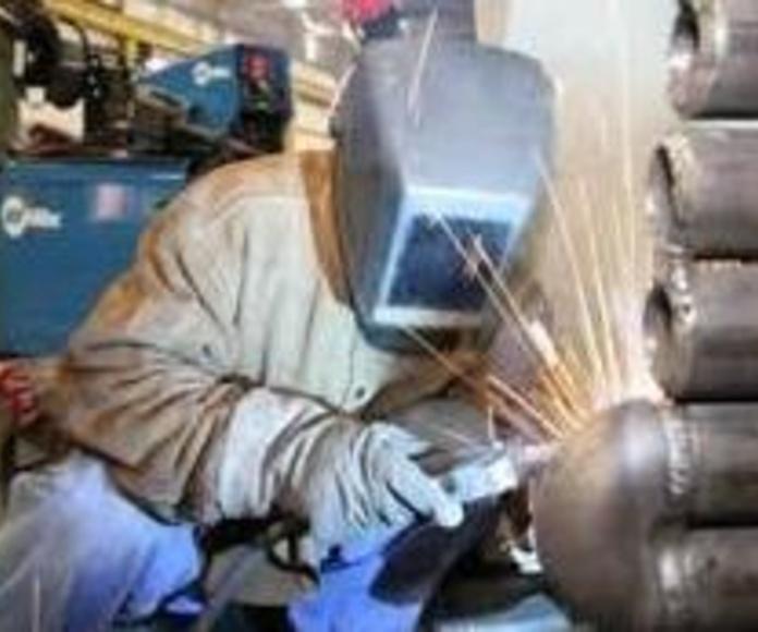 Soldadura de tuberías : Perforaciones y sondeos de Pozos y Sondeos Alonso