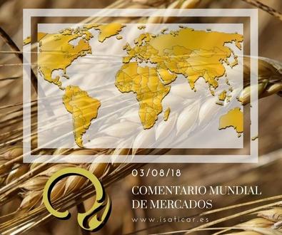Informe de mercados internacionales 03.08.18