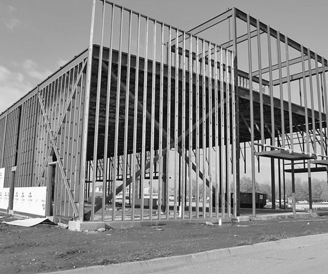 Las ventajas del acero en la edificación comercial