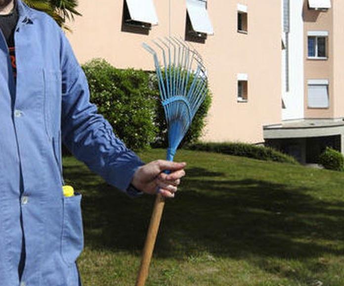 Trabajos de jardinería en la Rioja