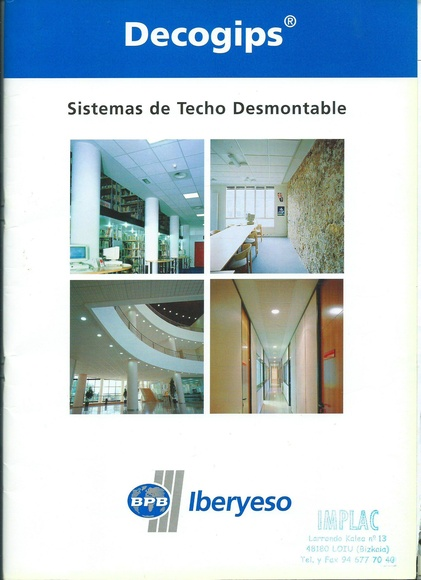 Sistemas techos registrables :  de Implac