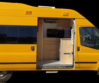 Ford Transit 2 plazas: Servicios de CamperIbiza