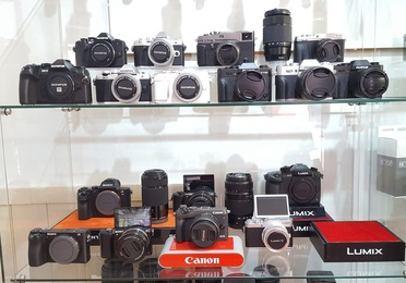 Cámaras fotográficas y accesorios