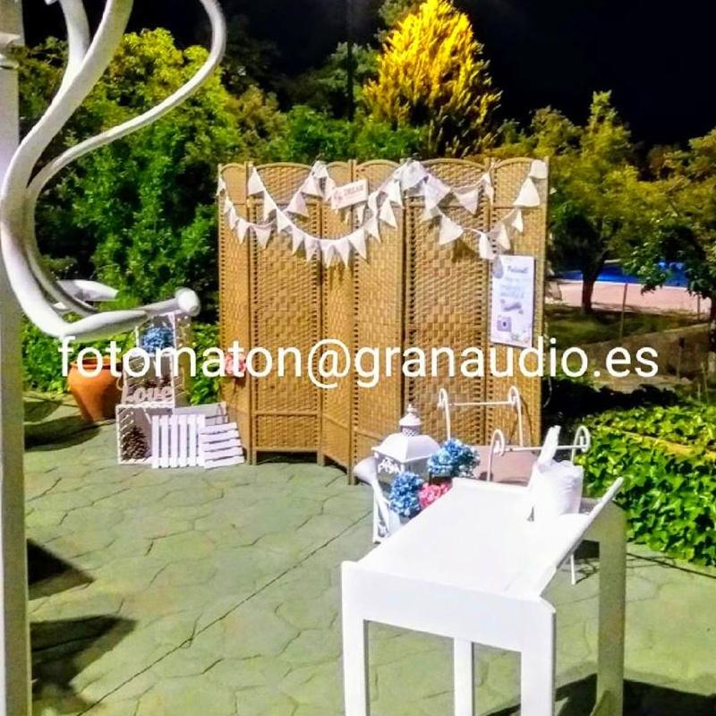 Fotomaton Granaudio: Servicios   de GranAudio