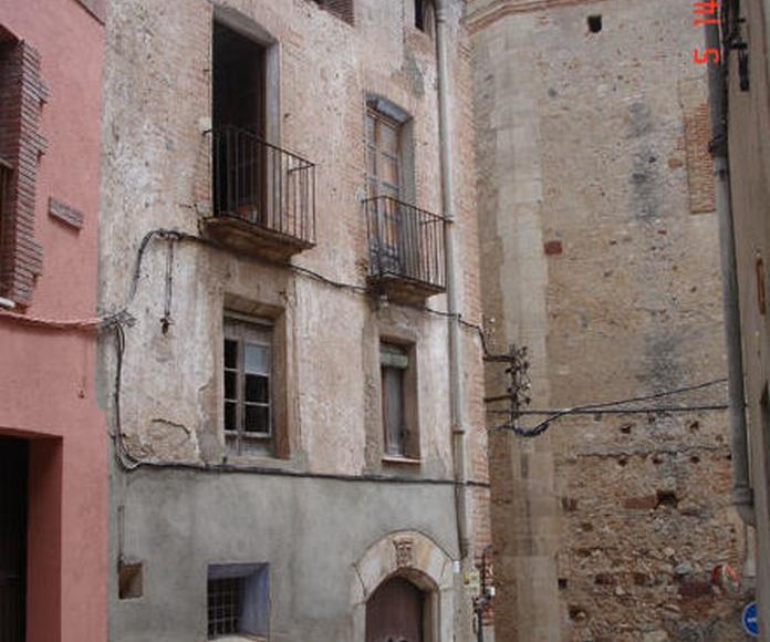 Edificio Protegido. Montroig del Camp (Tarragona). C/ Amunt