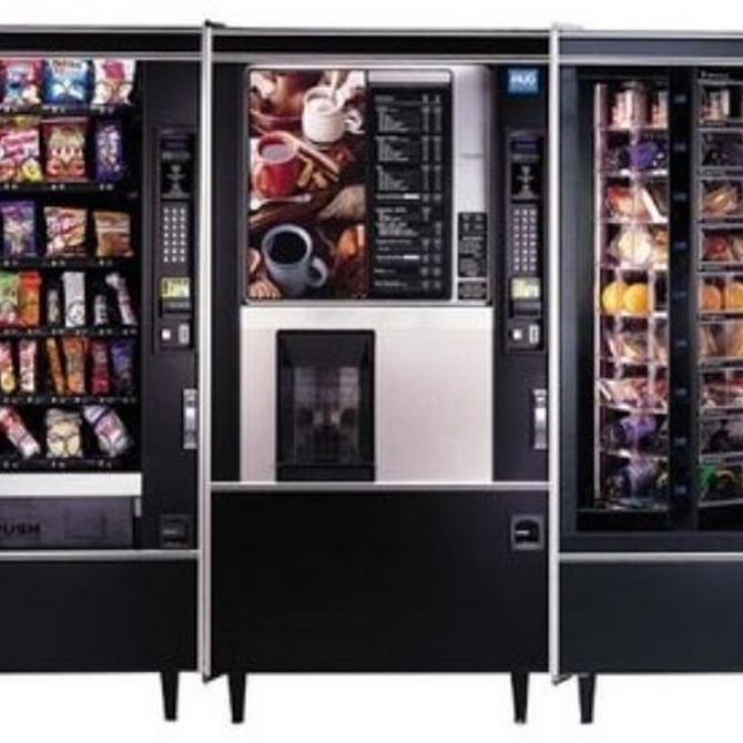 Cómo elegir la máquina expendedora para tu empresa
