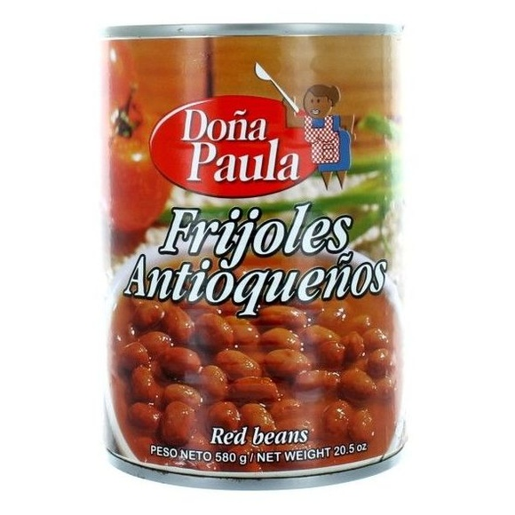Frijol antioqueño Doña Paula: PRODUCTOS de La Cabaña 5 continentes