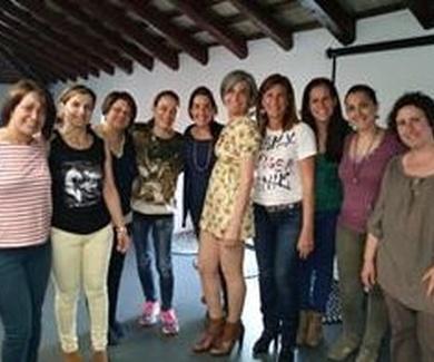 Charla sobre tapping en Mas Pintat en Reus (Tarragona) para mamás