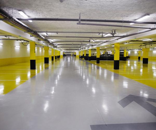 Suelos de parkings y garajes