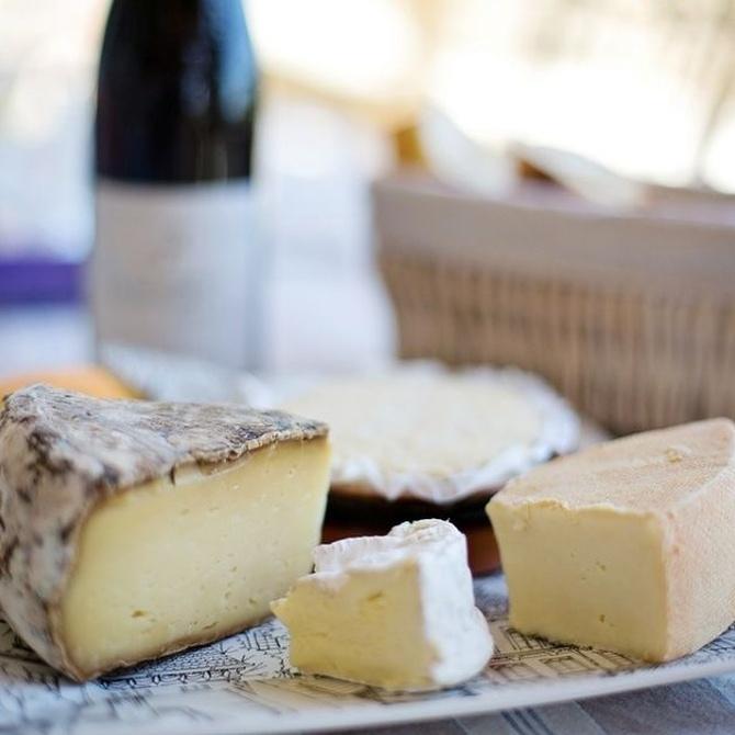 Principales quesos asturianos