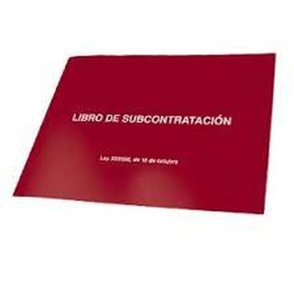 Libro de subcontratación