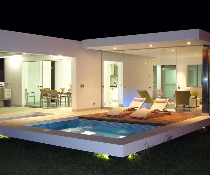 Vivienda modelo PREMIER LUX con piscina (Uruguai)