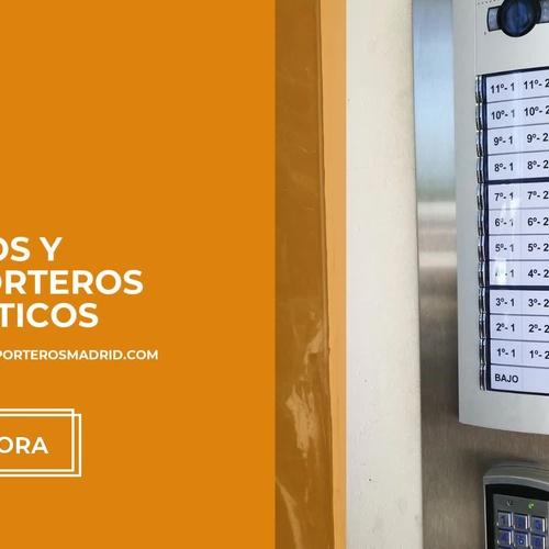 Porteros y videoporteros en Las Rozas | Andetel