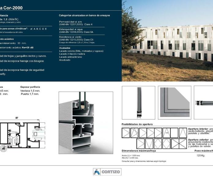 Cor 2000: Catálogo de Jgmaluminio