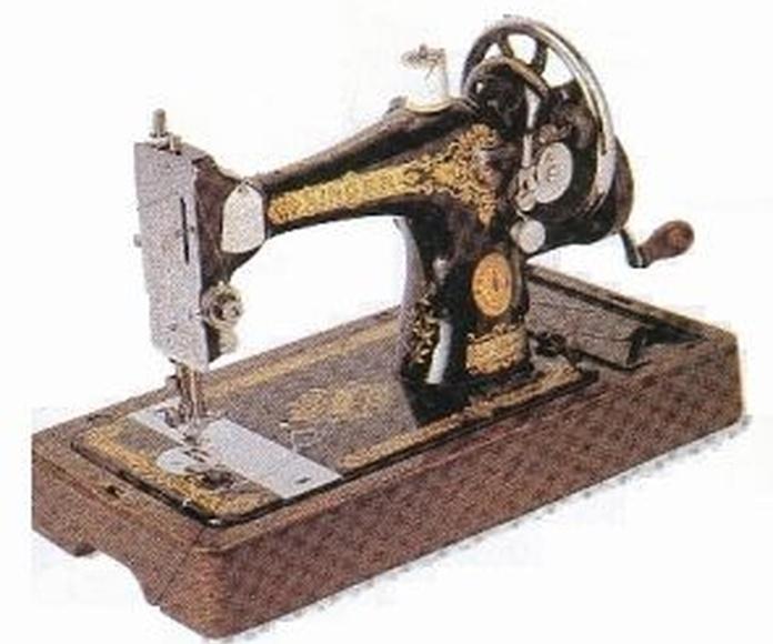 Pequeña historia de las Maquinas de coser