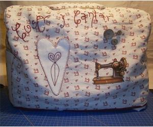 Funda máquina de coser de patchwork - Kit