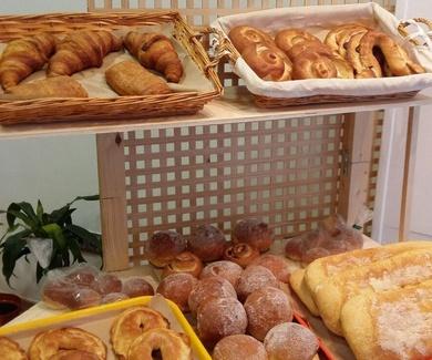 Panadería con reparto a domicilio