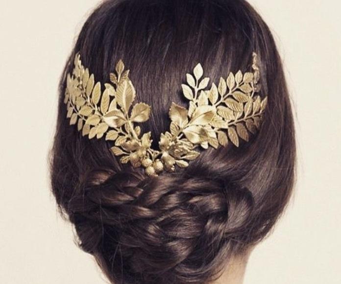 Peinados para novia. Primavera 2015