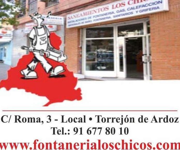 FONTANERÍA LOS CHICOS