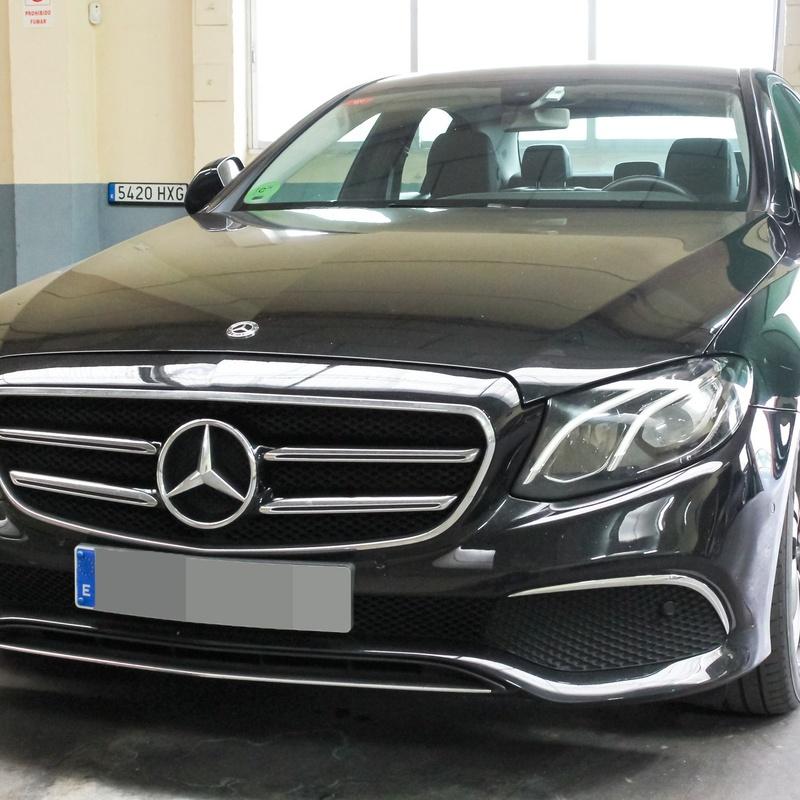 Alquiler de Mercedes Clase E con conductor: Servicios de Roldán