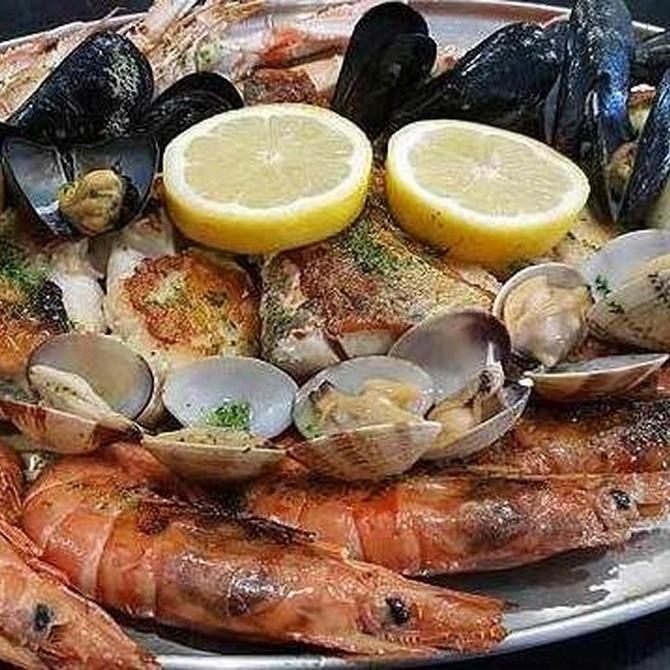 El marisco, alimento sabroso y saludable