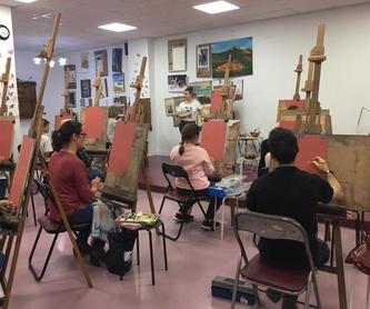 Óleo : Servicios   de Inicios Academia de Dibujo