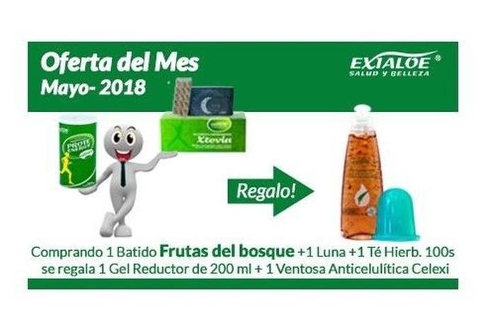 Oferta de Mayo: Productos  de Aloe Fábrica Ecológico