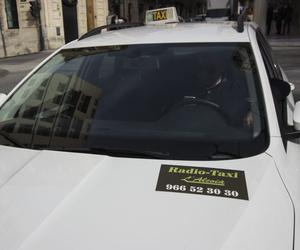Taxi profesional en Alcoi