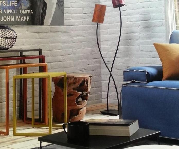 Muebles y decoración en Toledo. Colección Black in time.