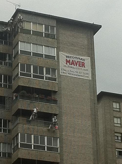 Fotos de Trabajos verticales en Bilbao | Reformas Maver