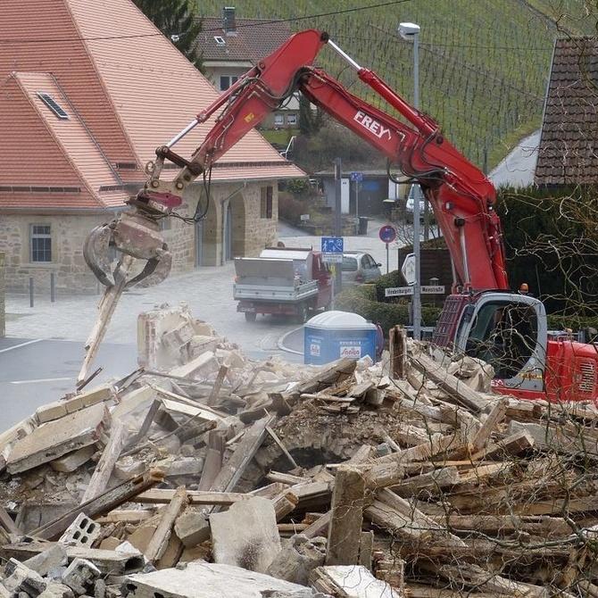 Los derribos de edificios