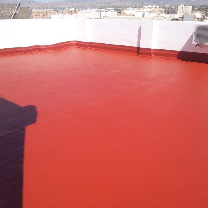 Impermeabilizaciones de cubiertas y tejados: Servicios of Galana, S.L.L. Impermeabilizaciones