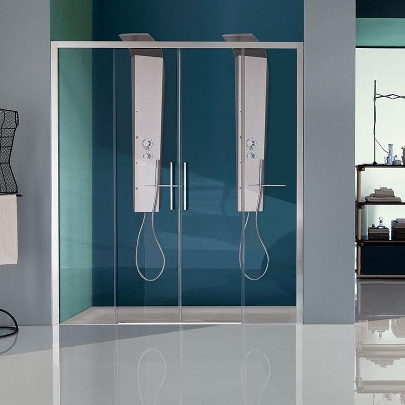 Acristalamiento en baños: Carpintería  Aluminio Tenerife de Namiju Aluminios