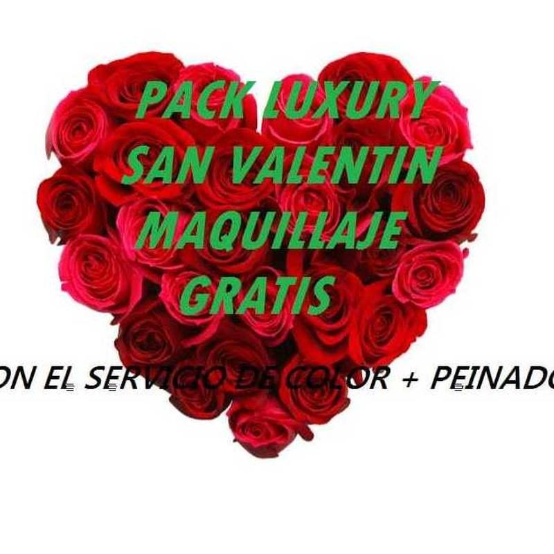 San Valentín Pack Luxury: Servicios de Peluqueria Gato Negro