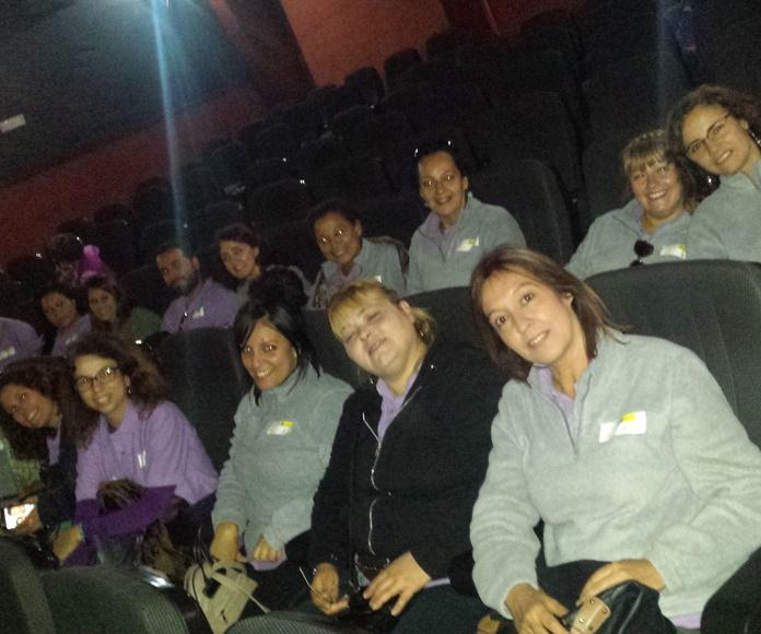 Salida Formativa Cine.: Proyectos y Servicios de Asociación Domitila