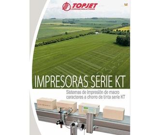 Impresoras Serie HR UV: Catálogo de Ibertopjet
