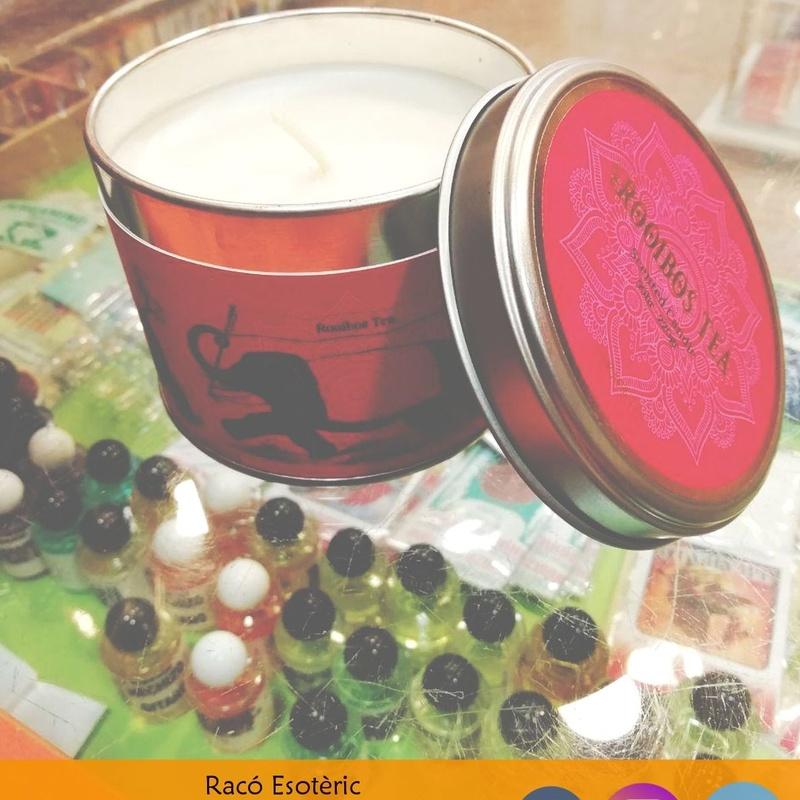 Velas aromáticas en caja: Cursos y productos de Racó Esoteric Font de mi Salut
