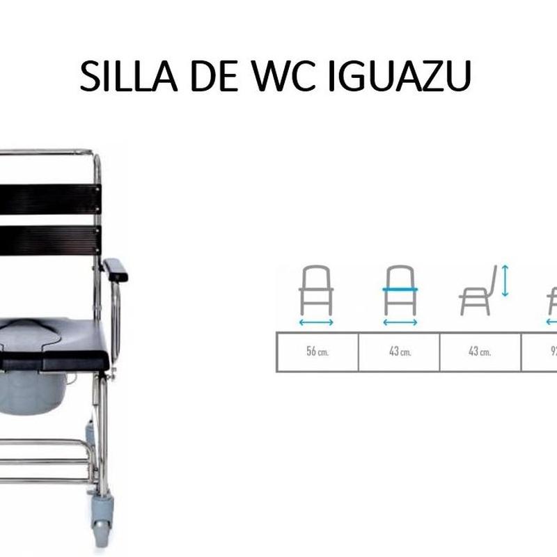 SILLA DE BAÑO IGUAZU: Catálogo de Ortopedia Bentejui