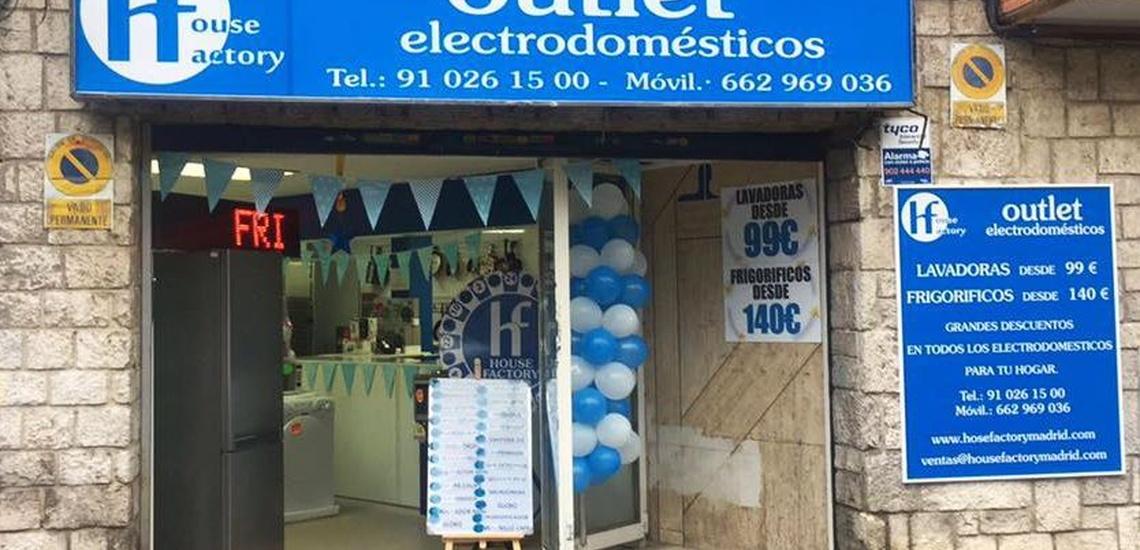 Outlet de electrodomésticos en Pueblo Nuevo
