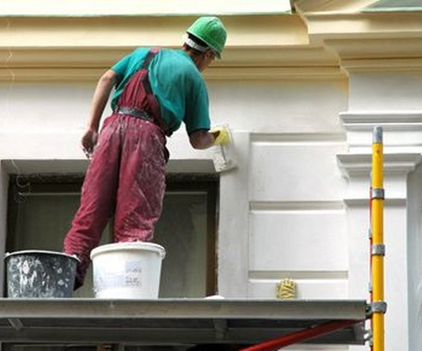 Trabajos de pintura exterior e interior