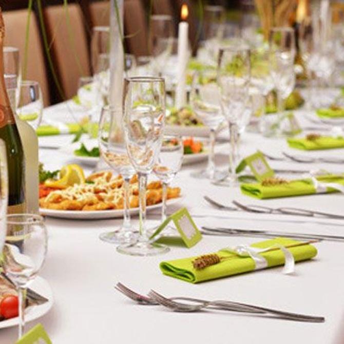 La importancia de la mantelería en una boda