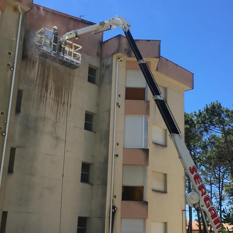 Rehabilitación de fachadas en San Vicente do Mar: Nuestros Servicios de Sergama Reparaciones de Altura
