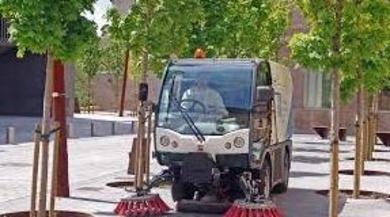 Reparación y mantenimiento de vehiculos de limpieza urbana y recogida de residuos